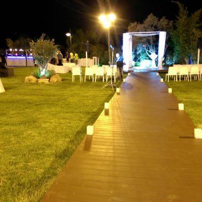 גן האירועים, הדרך לחופה בפרקט