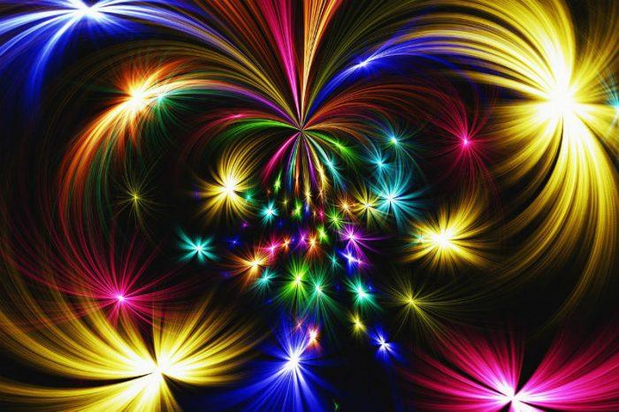 אפקטים צבעוניים של תאורה